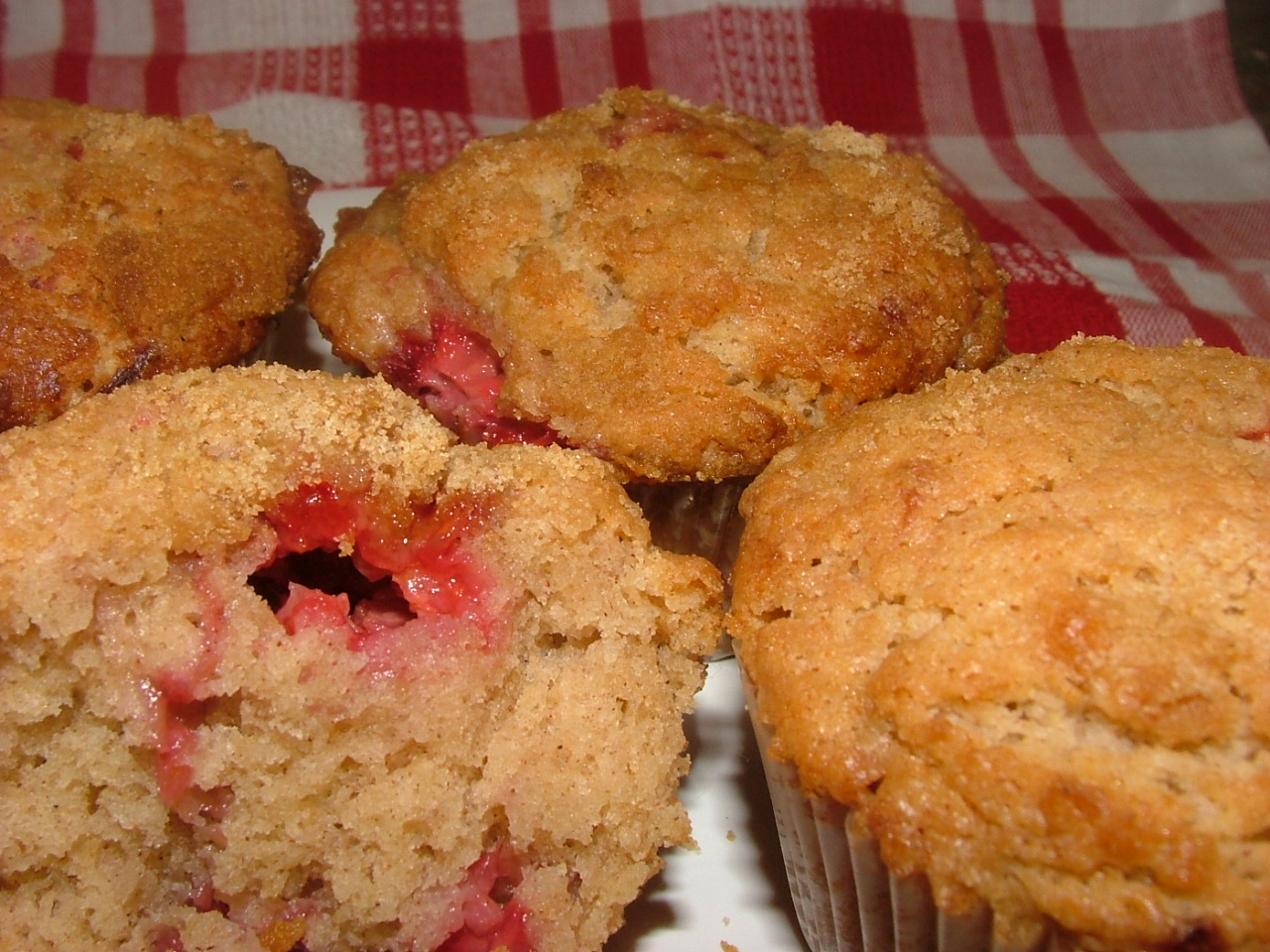 Raspberry Muffins | A Recipe A Day