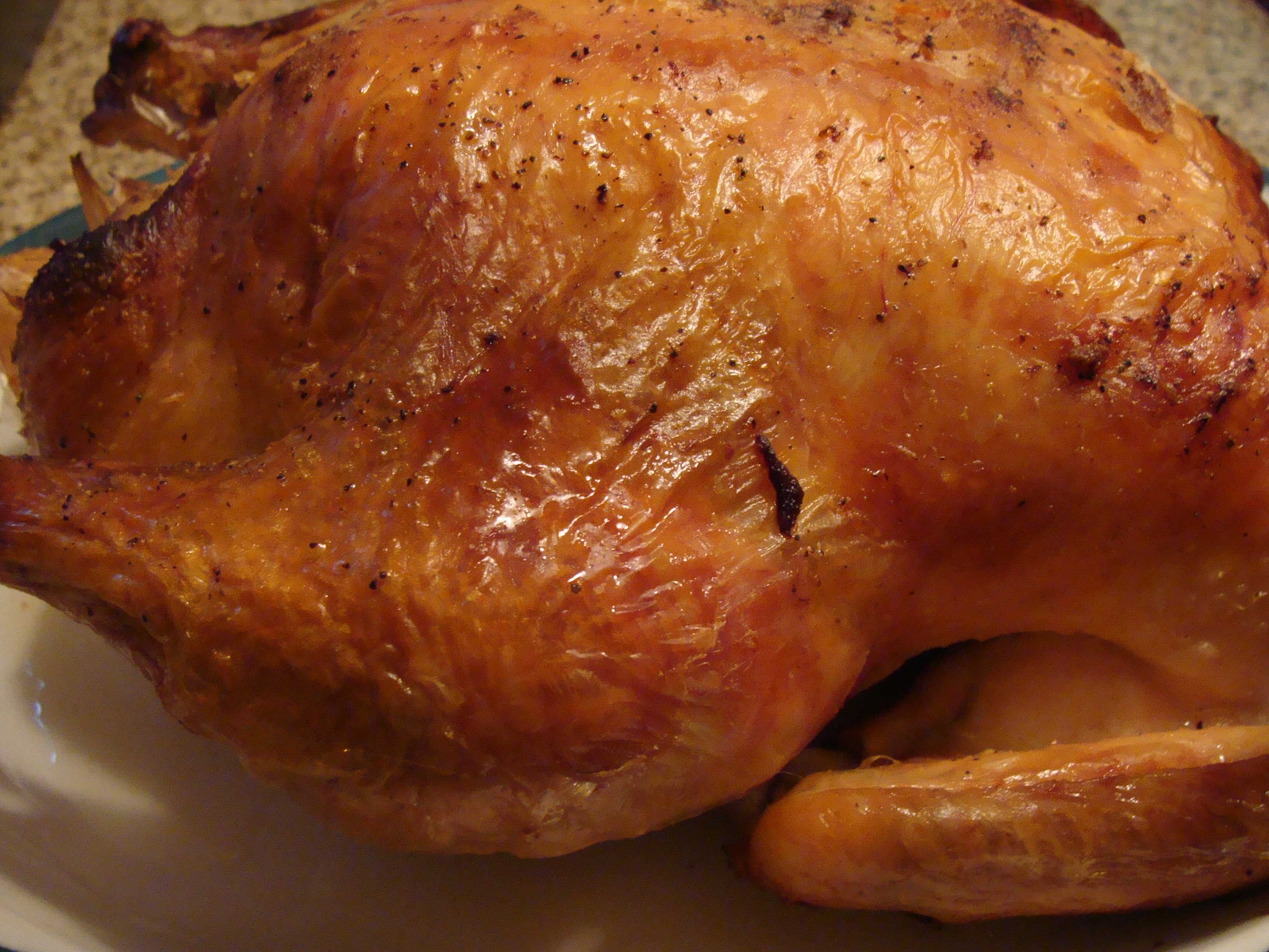 Chicken in a roaster recipe