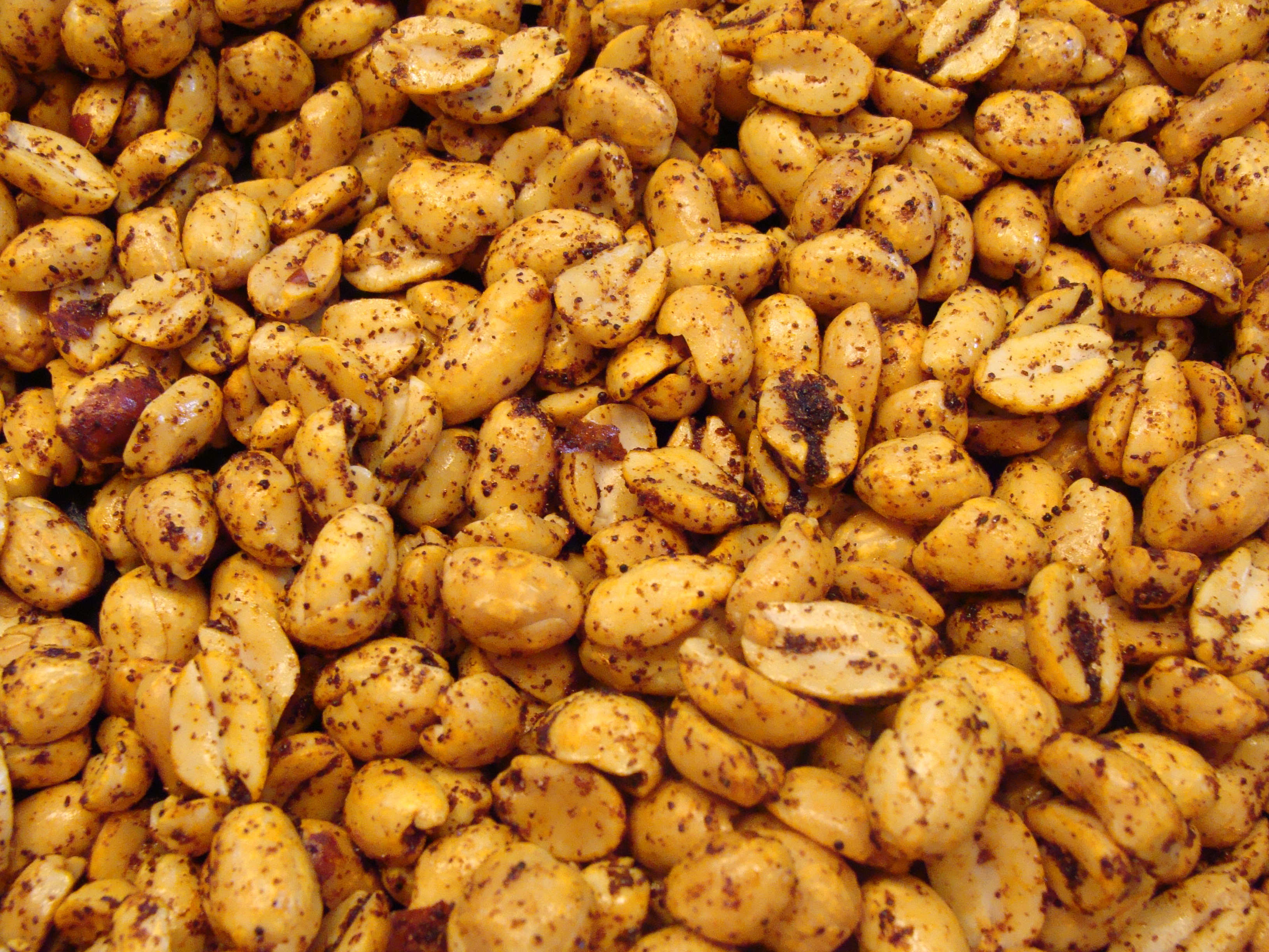 Hot and Spicy Peanuts | A Recipe A Day