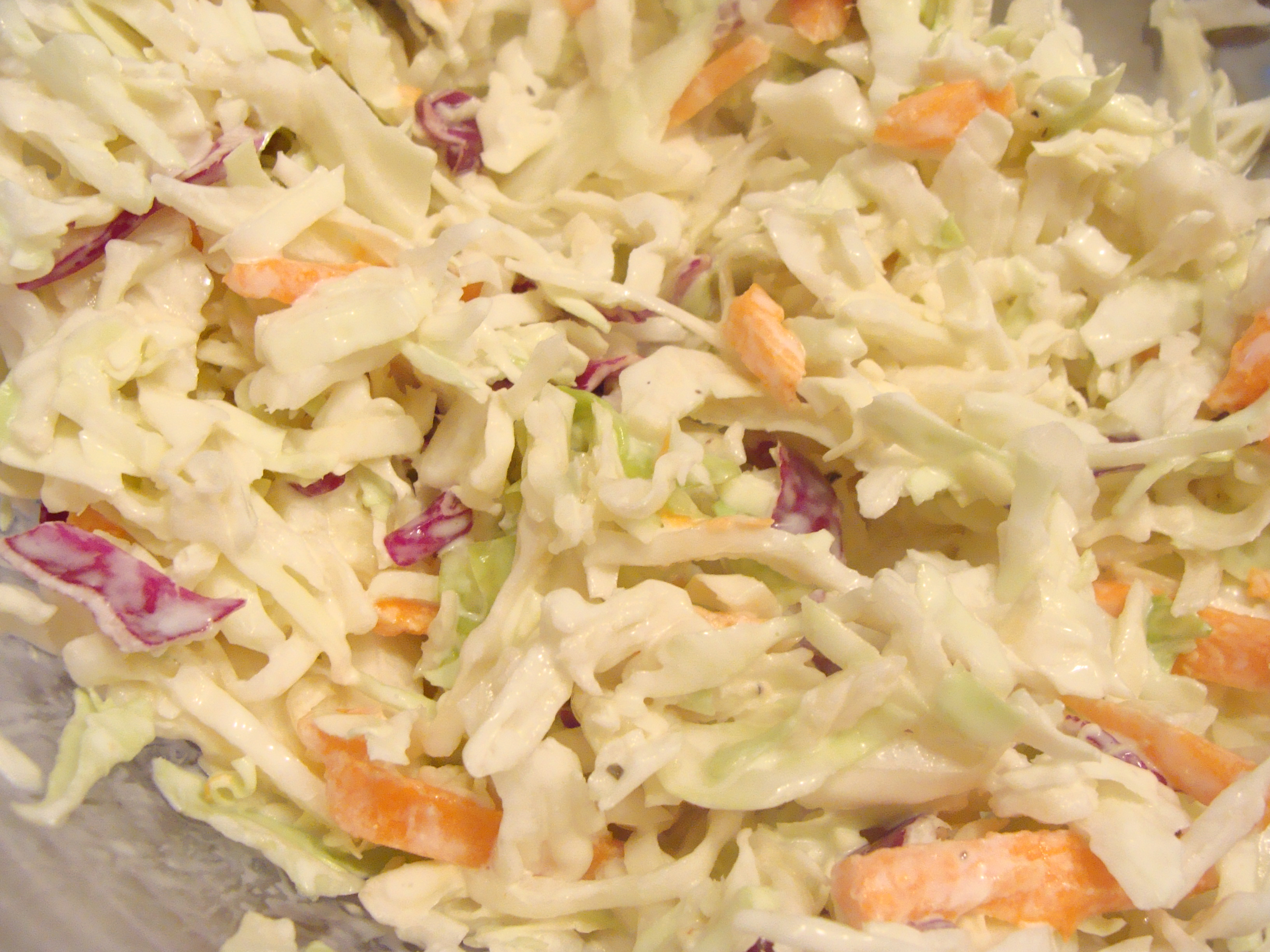 Easy Cole Slaw | A Recipe A Day