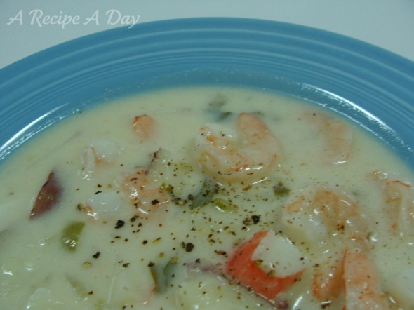 seafood-chowder-added