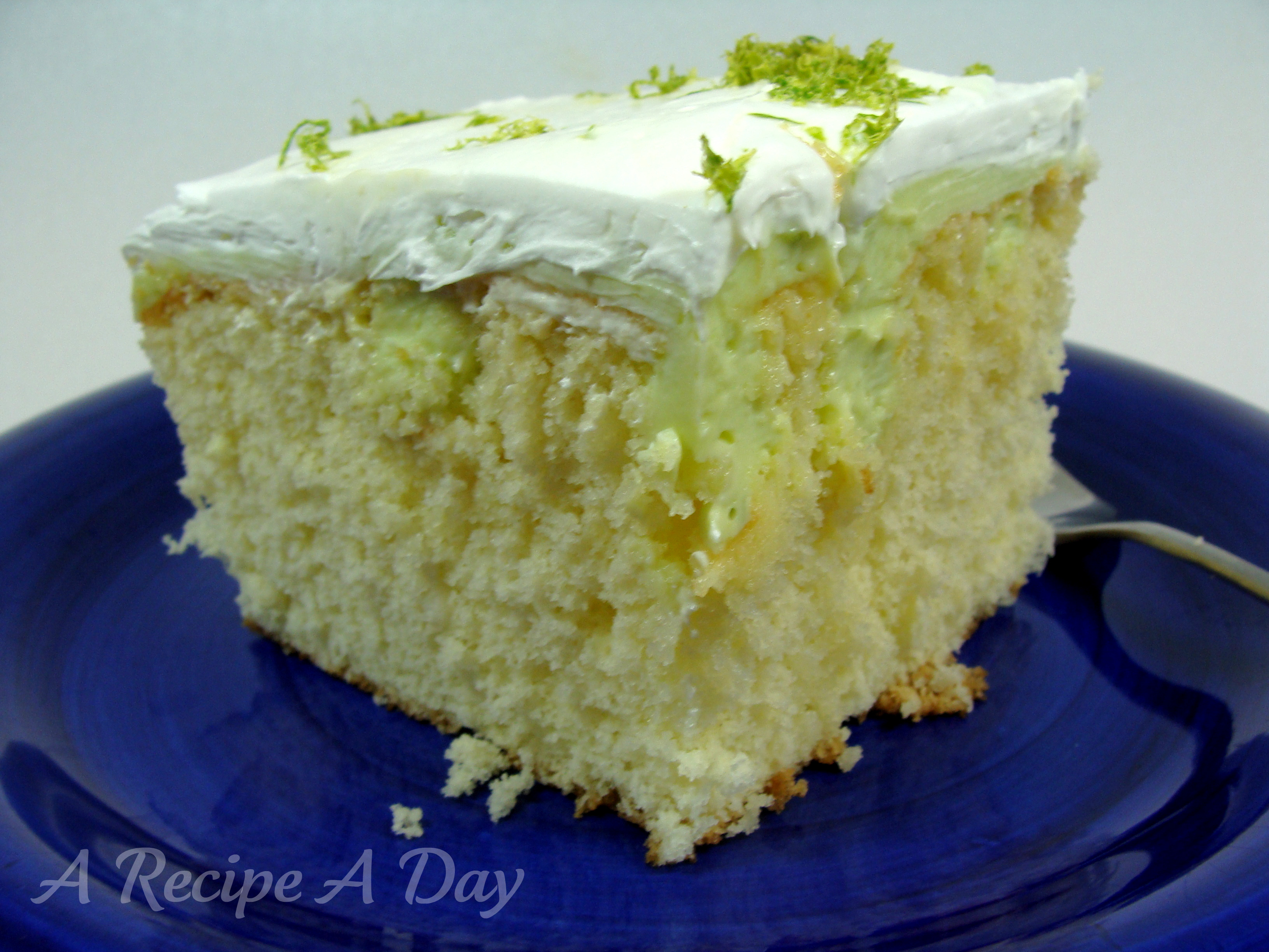 Key Lime Cake | A Recipe A Day
