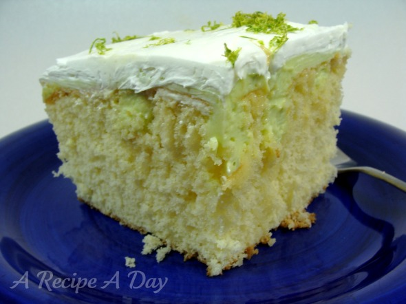 key-lime-cake-added