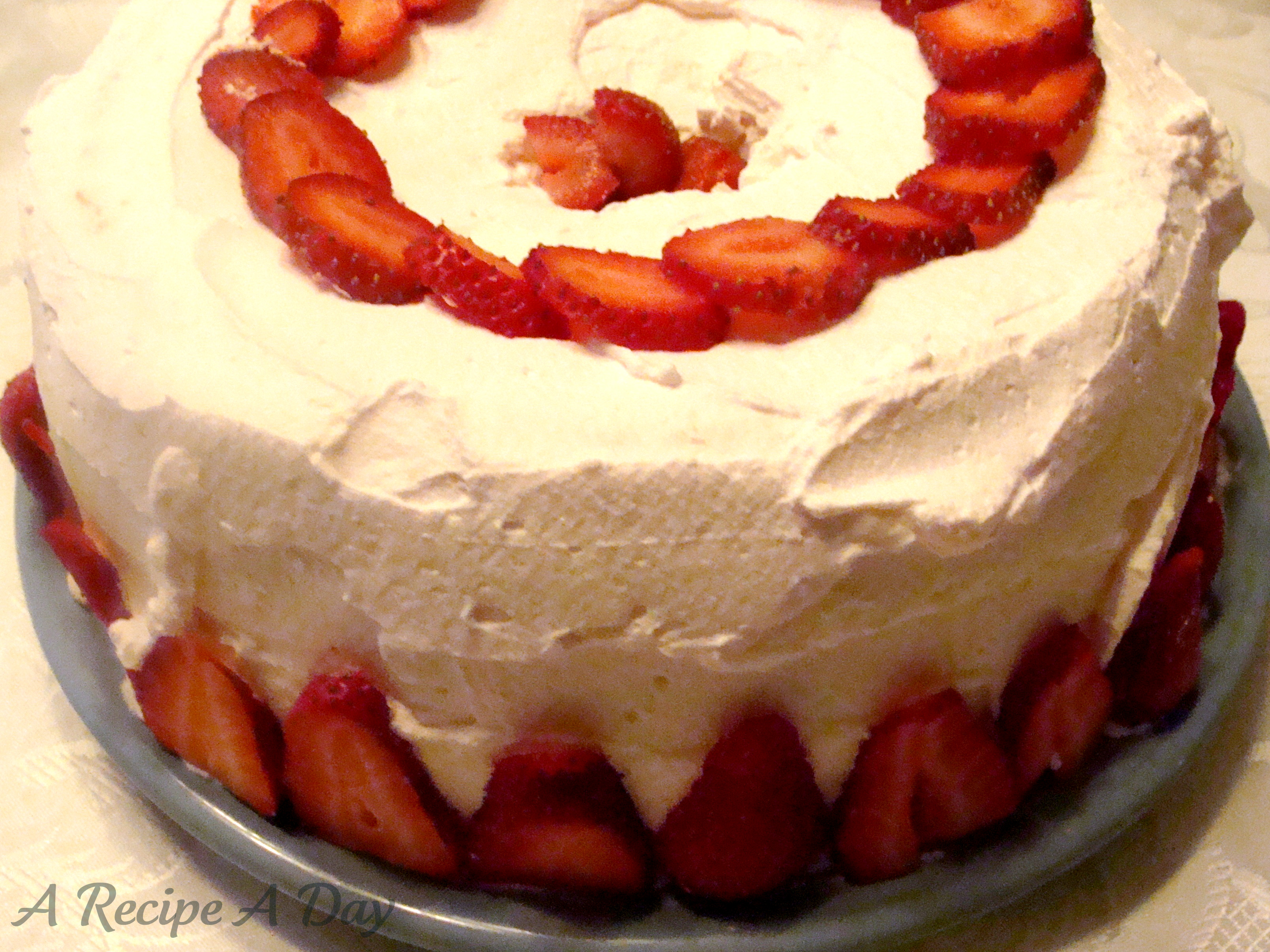 Strawberry Waldorf Cake | A Recipe A Day