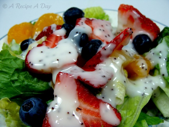 Fruity salad CW