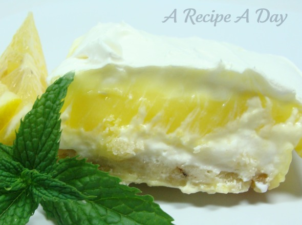 Lemon Cheese Dessert 2