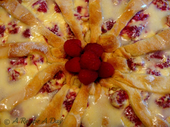 Raspberry Coffeecake CW