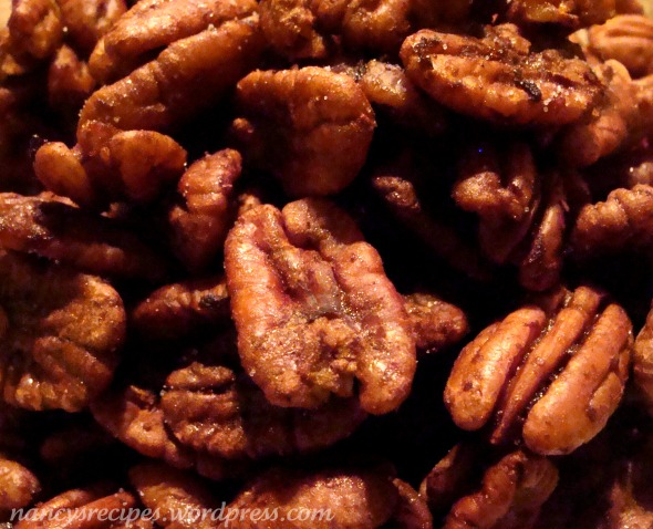 Barbecued Pecans