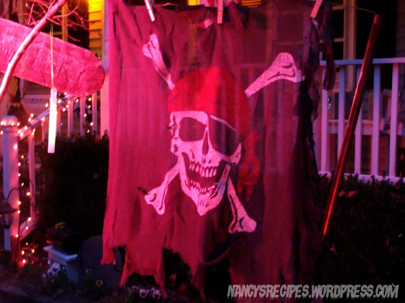 Halloween 2009 Pirate Flag