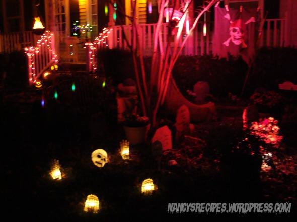 Halloween 2009 Yard