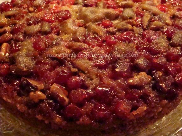 Cranberry Pecan Coffee cake 2