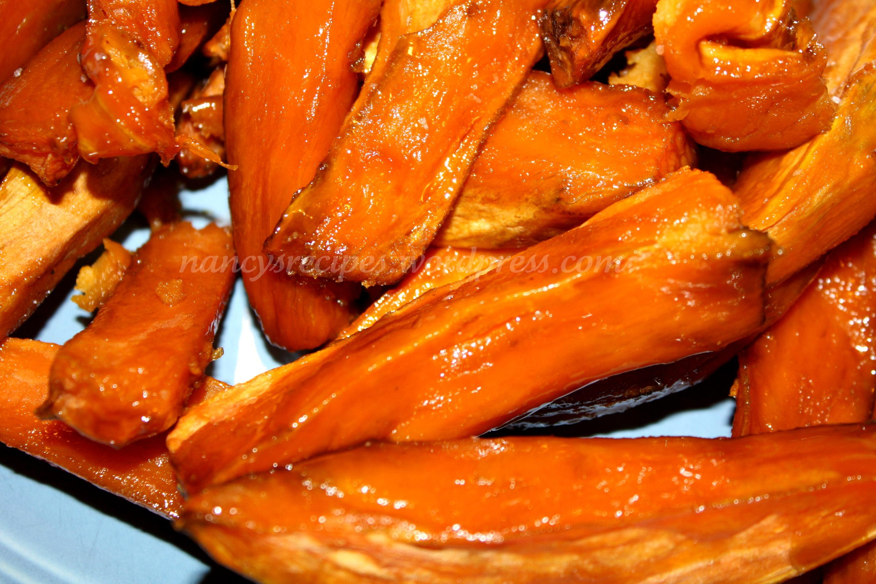 bourbon yams sweet roasted sweet potatoes we eat sweet bourbon mashed ...
