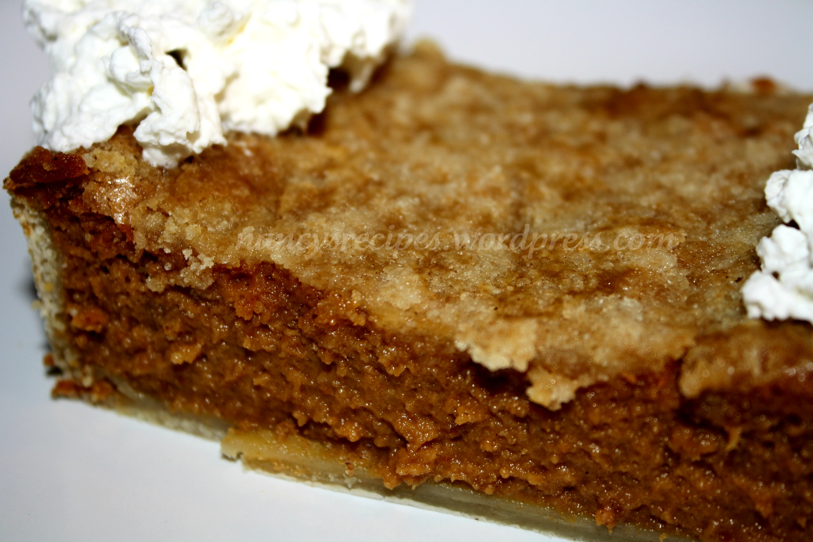 Drunken Pumpkin Bourbon Tart Recipe — Dishmaps