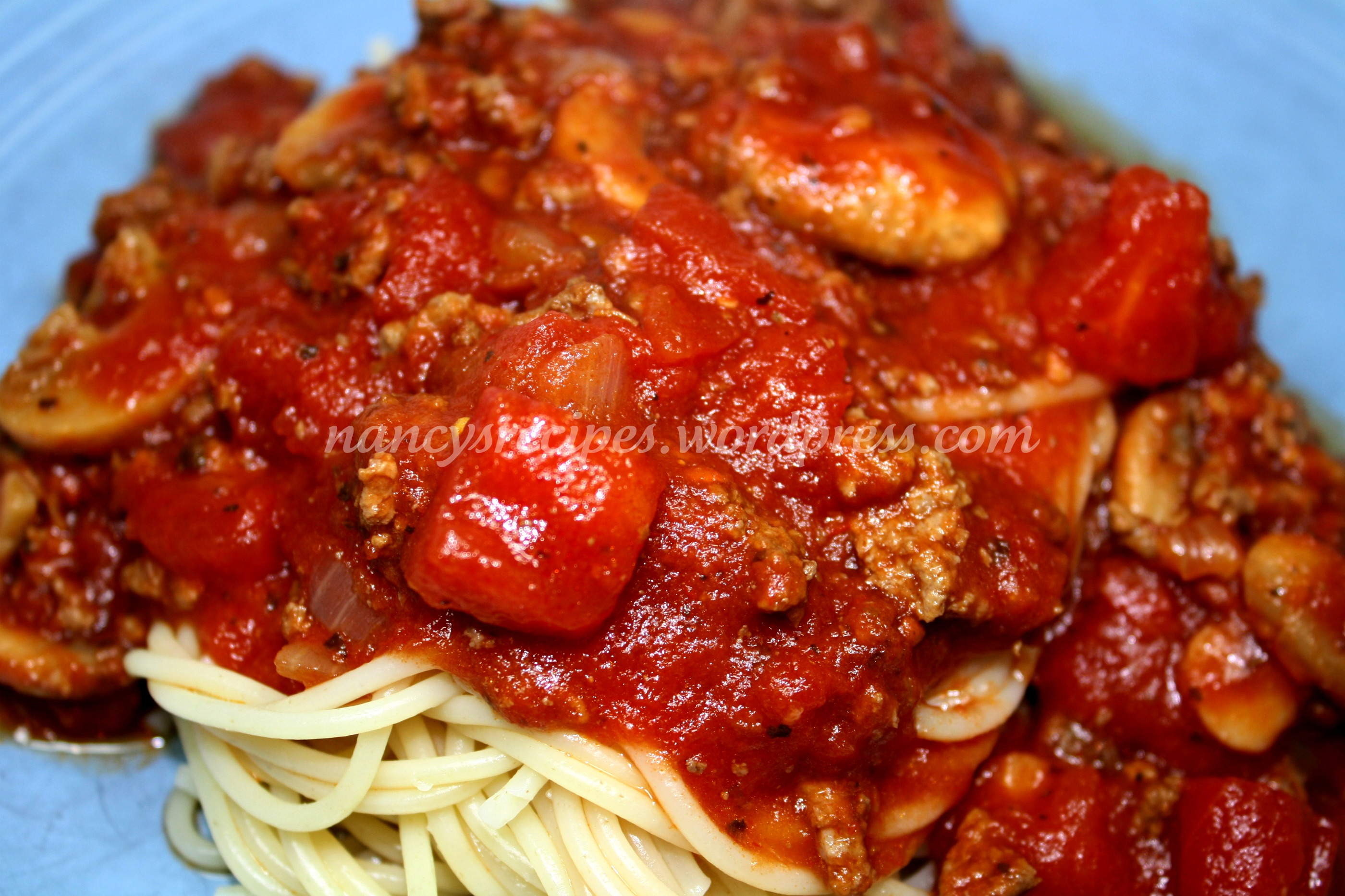 Really Good, Really Easy Slow Cooker Spaghetti Sauce | A Recipe A Day
