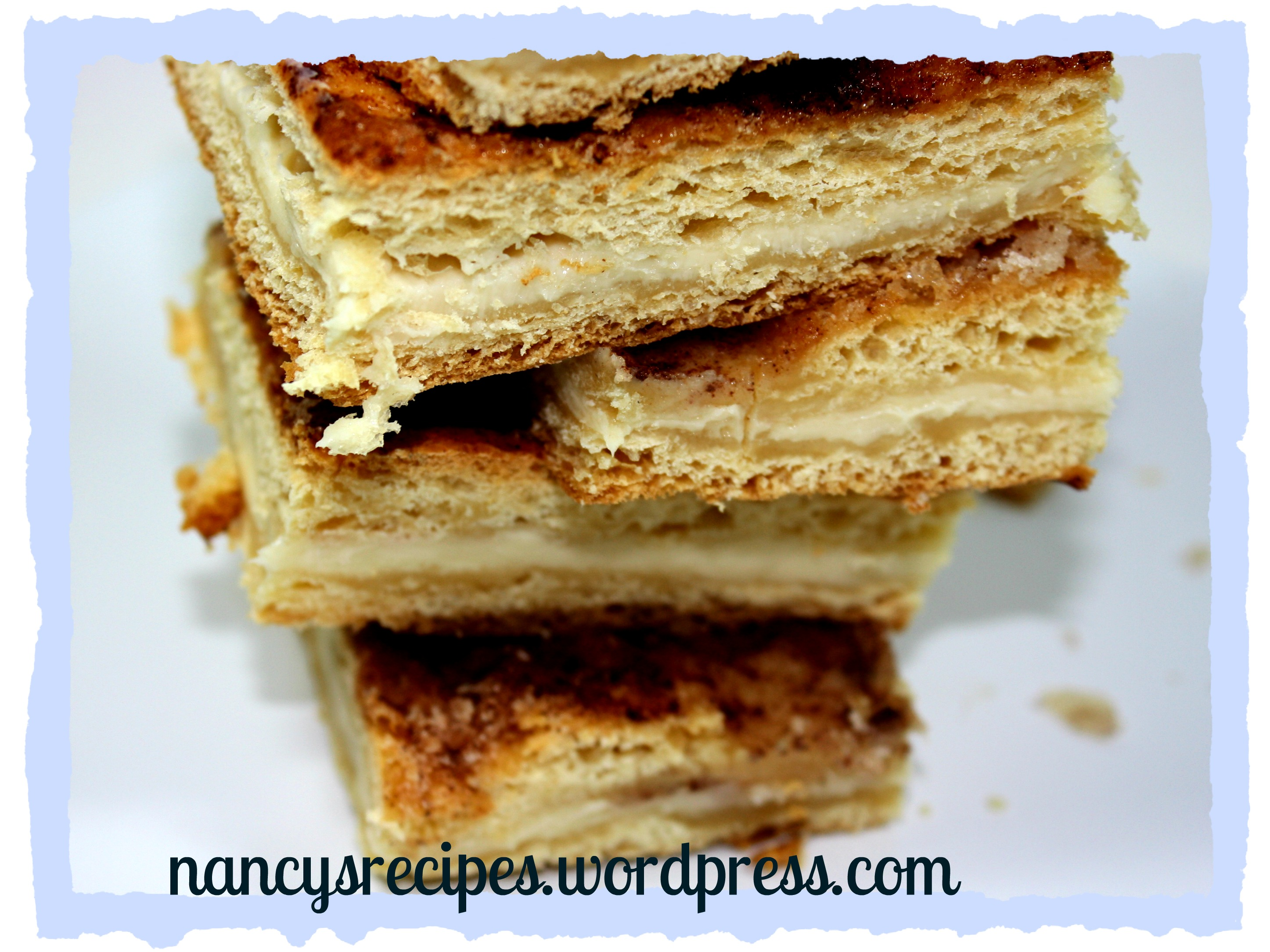 Cinnamon Cream Cheese Squares