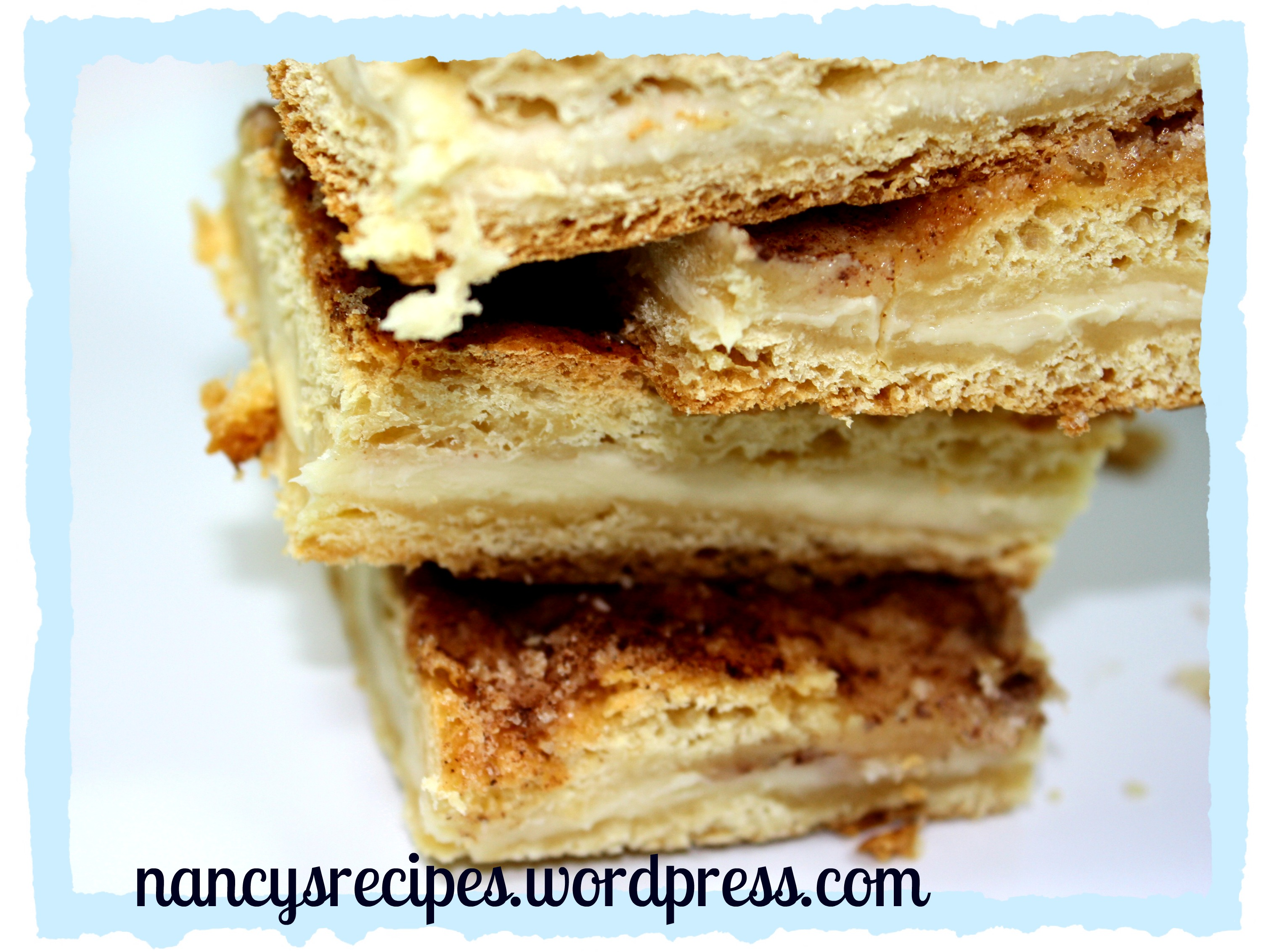 Cinnamon-Cream Cheese Breakfast Bars Recipes — Dishmaps