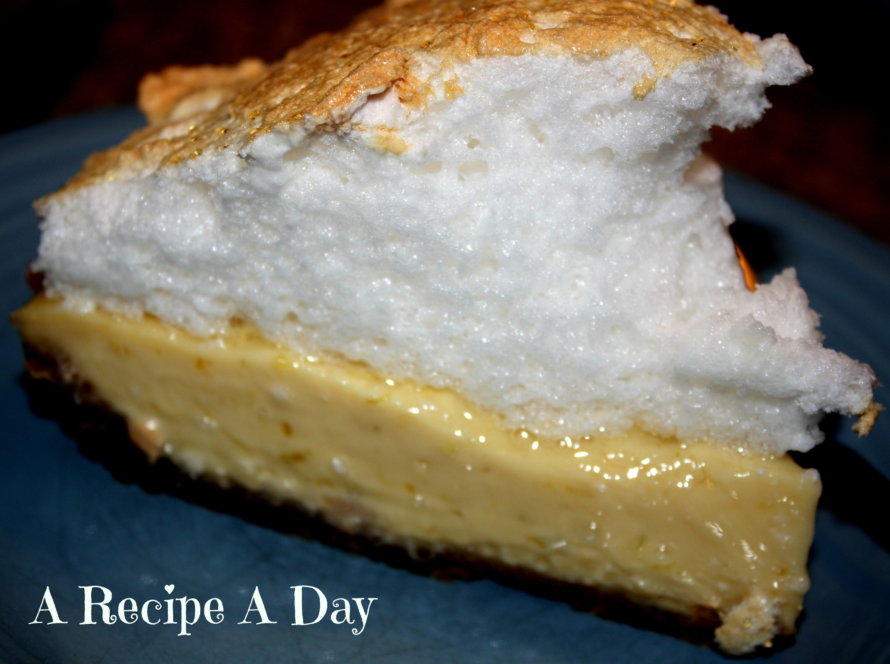 Key Lime Meringue Pie | A Recipe A Day