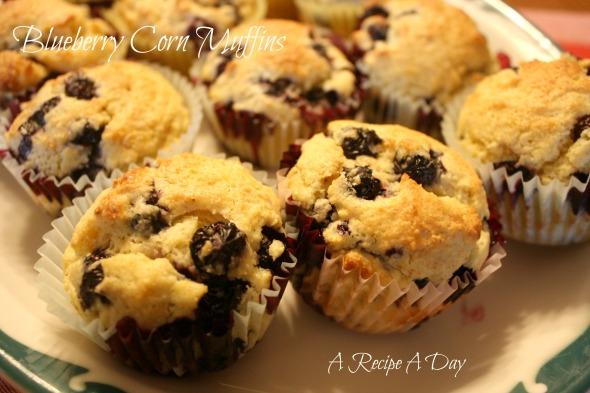 Blueberry Corn Muffins 2