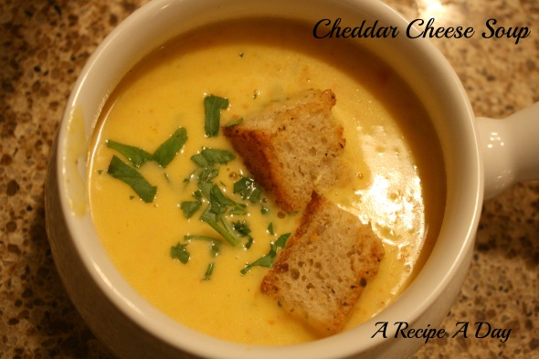 Cheddar Cheese Soup 2