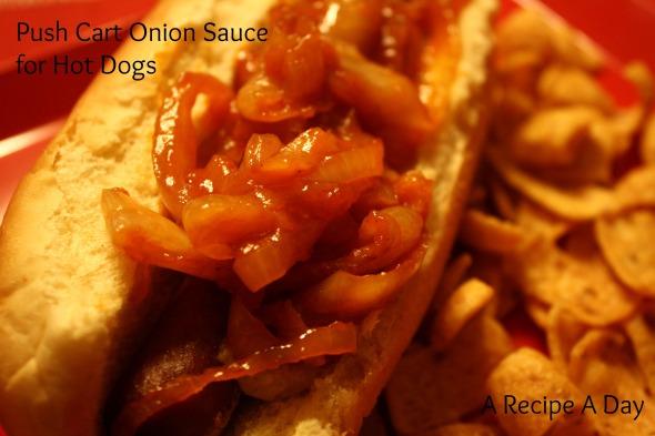 Push Cart Onion Sauce