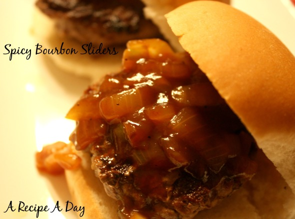 Spicy Bourbon Sliders