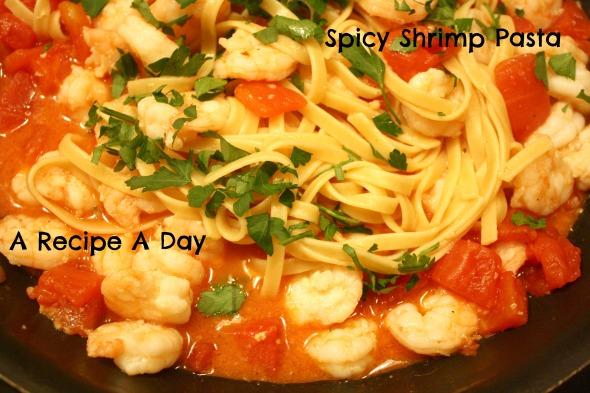 Spicy Shrimp Pasta