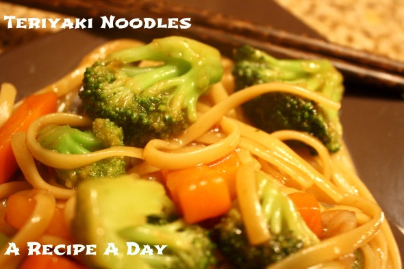 Teriyaki Noodles 2