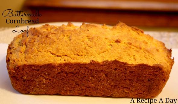Buttermilk Cornbread Loaf 2
