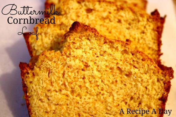 Buttermilk Cornbread Loaf