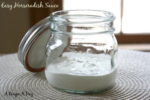 Easy Horseradish Sauce