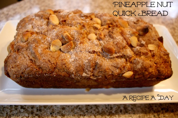 Pineapple Nut Quick Bread