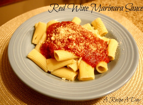 Red Wine Marinara Sauce 2