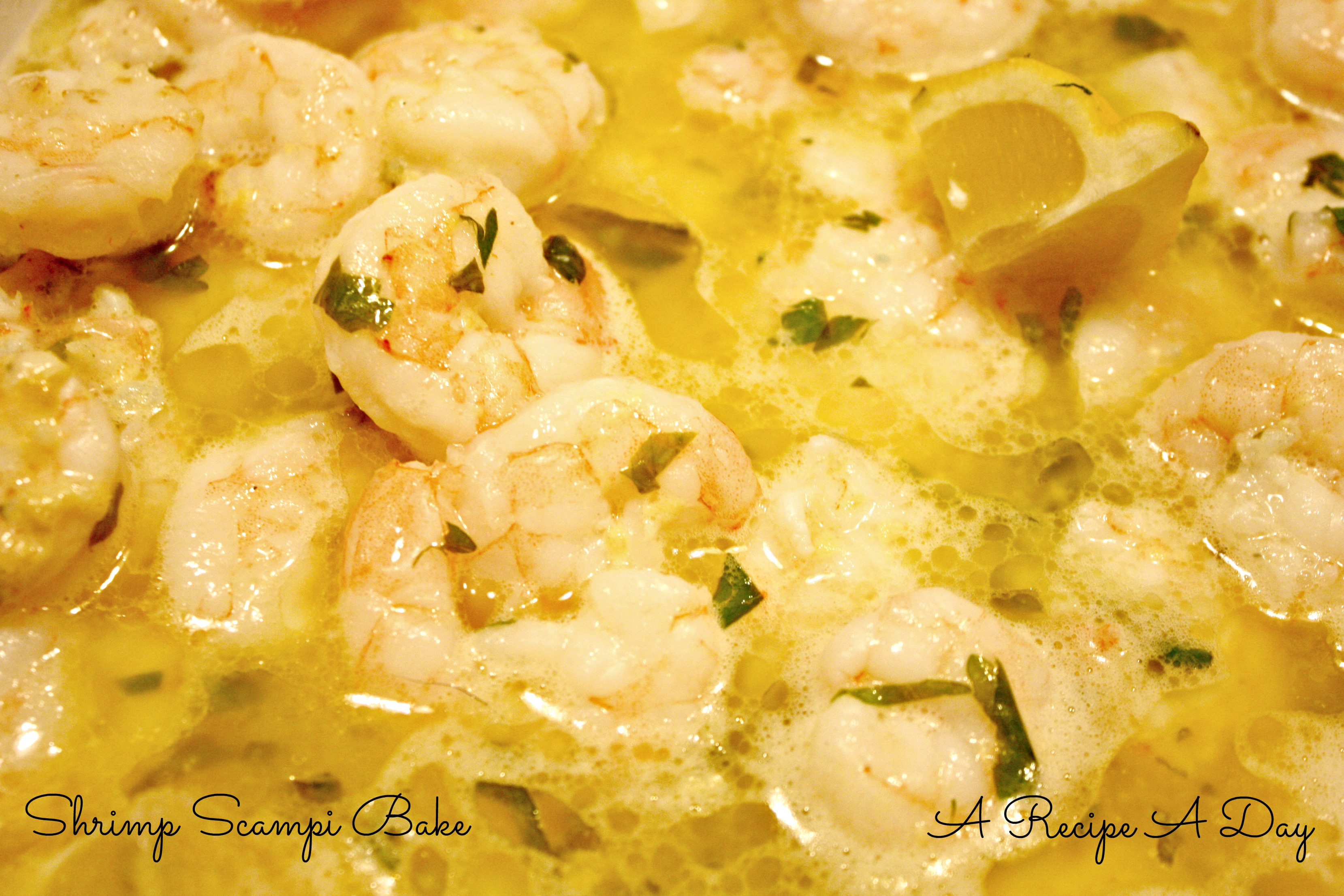 Shrimp Scampi Bake | A Recipe A Day