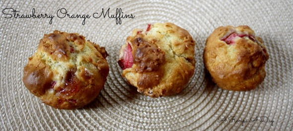 Strawberry Orange Muffins 2