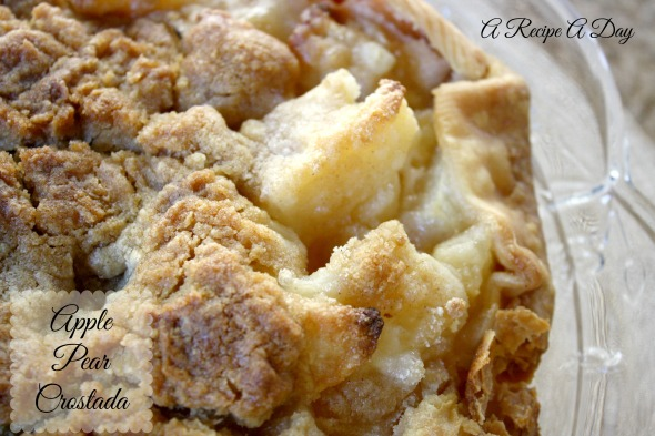 Apple Pear Crostada