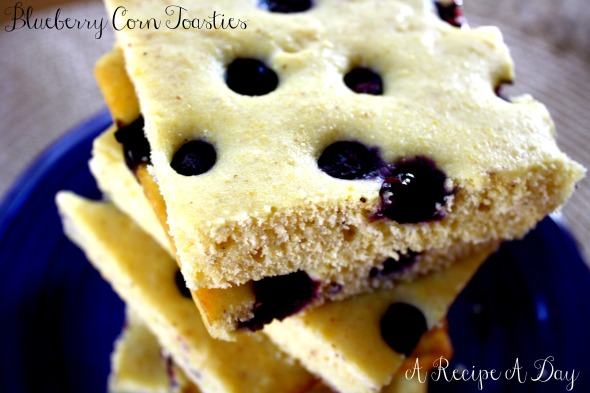 Blueberry Corn Toasties 2
