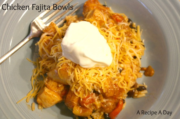 Chicken Fajita Bowls @