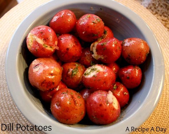 Dill Potatoes 2