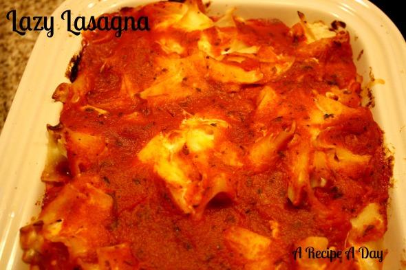 Lazy Lasagna 2