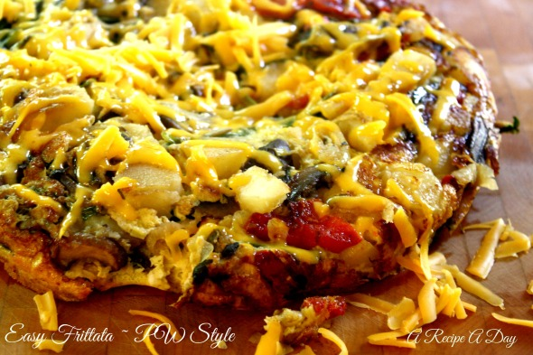 A Recipe A Day ~ Easy Frittata PW Style 2