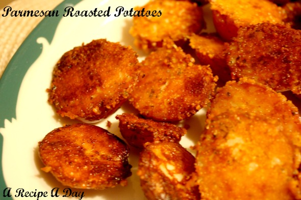 Parmesan Roasted Potatoes | A Recipe A Day